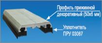 Алюминиевый стыковочный профиль